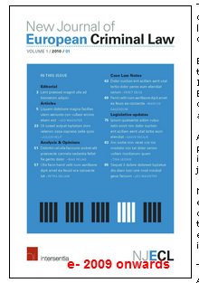 New Journal of European Criminal Law