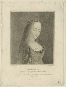 NPG D23777; Queen Margaret of Anjou by Schenecker, published by  Edward Harding, after  Sylvester Harding